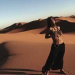 Холли Берри позировала в пустыне для эротичных фото
