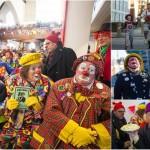 Десятки клоунов собрались в Лондоне на поминальную службу
