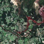 Последствия разрушения бразильской дамбы видно из космоса