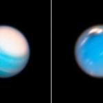 Телескоп «Хаббл» сфотографировал шторм на Уране и Нептуне