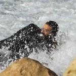 Отважный ультраортодокс спас серфингиста