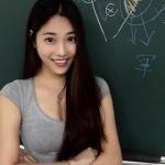 «Самую красивую учительницу» нашли на Тайване