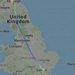 Вылетевший из Лондона в Германию самолёт по ошибке приземлился в Эдинбурге, Шотландия
