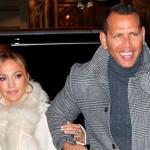 Дженнифер Лопес и Алекс Родригес впервые вышли в свет после новости о помолвке