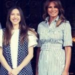 Мелания Трамп встретилась с супругой Хуана Гуайдо