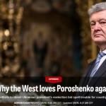 Война за Порошенко на просторах западных СМИ