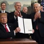 Дональд Трамп подписал указ о признании суверенитета Израиля над Голанскими высотами