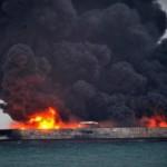 Российский танкер горел в Черном море больше месяца. Второе судно еще горит.