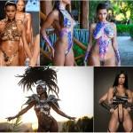Мода на «наклеенные» купальники становится все более популярной (фото)