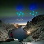 НАСА устроило необычное световое шоу в небе над Норвегией