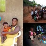 В Африке живет мать-одиночка с 38 детьми