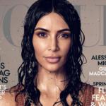 Снимок Ким Кардашьян на обложке Vogue разозлил читателей