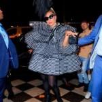 Леди Гага появилась на публике в эпатажном образе