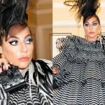Леди Гага опять удивила всех «куриным» платьем