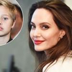Анджелина Джоли отпраздновала 13-летие дочери Шайло  как с мальчиком (фото)