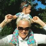 55-летняя Бриджит Нильсен поделилась кадрами годовалой дочери