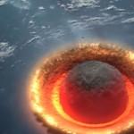 Ученые показали, что будет если на Землю упадет огромный астероид (фото)