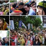 Тайвань легализует однополые браки (фоторепортаж)