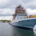 Новый корвет для ЦАХАЛа «Маген», первый из 4 заказанных кораблей класса «Саар-6», спущен на воду