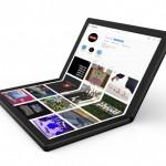 Lenovo показала прототип ноутбука с гибким экраном (dbltj)