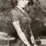 Ольга Куриленко поделилась снимком с первой фотосессии в 15 лет