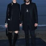Киану Ривз пришел на модный показ впервые с девушкой