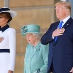 Дональд и Мелания Трамп встретились с королевой Елизаветой II