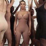 Ким Кардашьян представила свой новый бельевой бренд, натянув его на себя