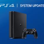 Вышло обновление прошивки на PS4