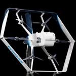 Amazon показала дрон-трансформер с ИИ для доставки товаров по воздуху