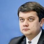 Глава партии «Слуга народа» отказывается разговаривать на украинском языке
