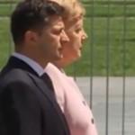 После встречи с Зеленским Ангеле Меркель стало очень плохо (видео)