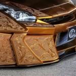 Уникальный золотой автомобиль Nissan оценили в 1,6 миллиона долларов
