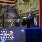 В США завершено строительство корабля для полета на Луну