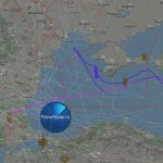 Американские самолеты провели разведку вдоль побережья оккупированного Крыма (карта)