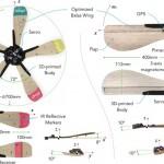 Создан распадающийся на пять дронов дрон (видео)