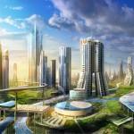 В Саудовской Аравии построят «город будущего» с роботами-динозаврами и искусственной Луной