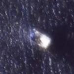 Американцы сняли из космоса взорванную баржу у берегов Архангельска