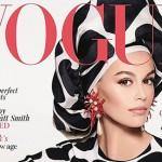 Кайя Гербер дебютировала на обложке британского Vogue