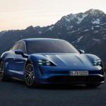 Porsche представила свой первый серийный электромобиль Taycan