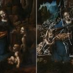 На картине «Мадонна в скалах» Леонардо Да Винчи нашли скрытый эскиз лругой необычной картины