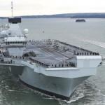 Британский флот пополнился вторым авианосцем нового типа