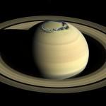 Станция «Кассини» помогла увидеть полярные сияния Сатурна