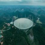 В Китае запустили самый большой в мире радиотелескоп