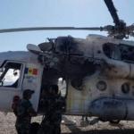 В Афганистане обстреляли вертолет с украинцами