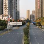 Мегаполисы Китая опустели из-за коронавируса (фото)