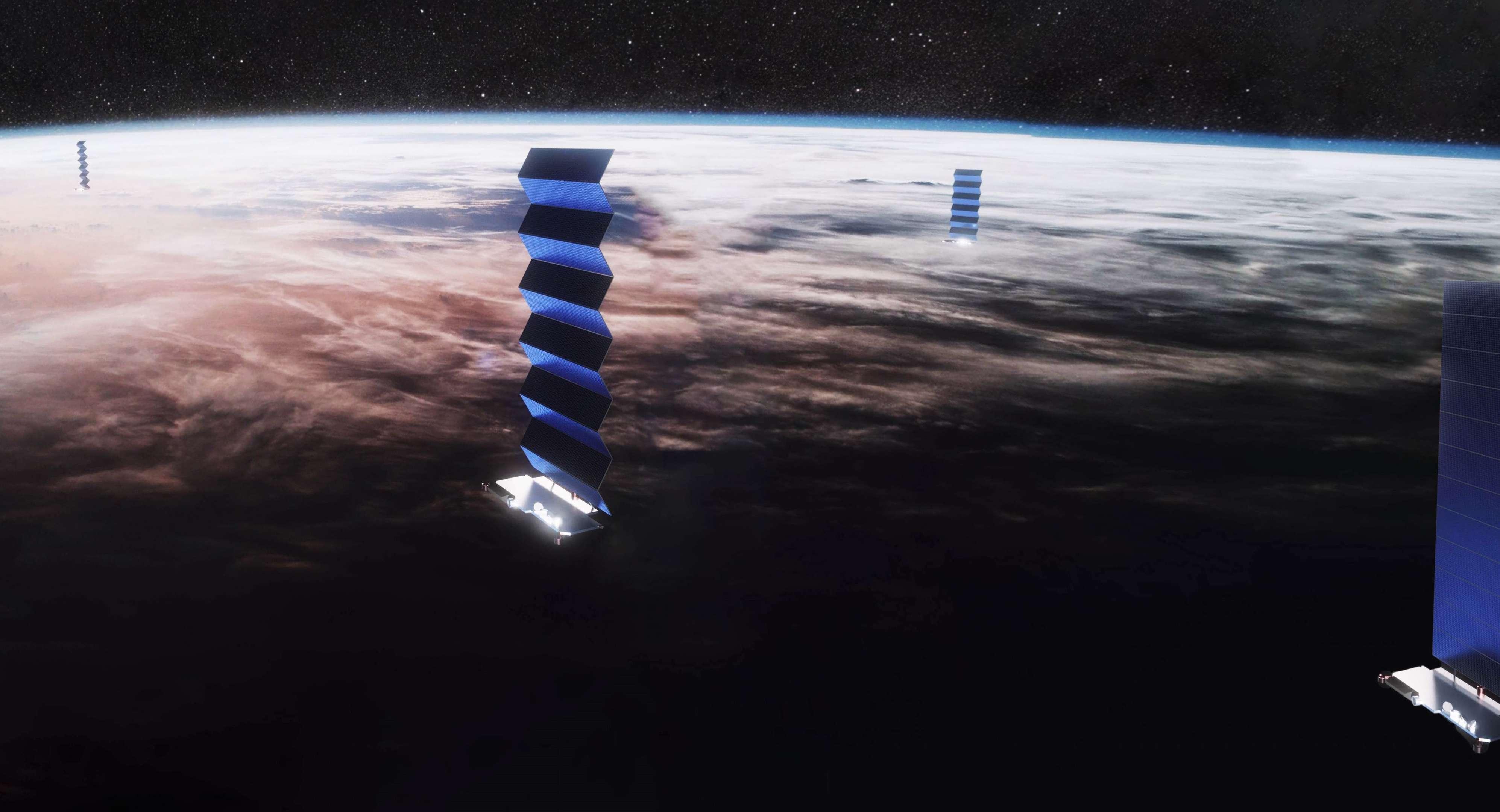 SpaceX благополучно запустила ракету Falcon 9 сочередными 60 спутниками