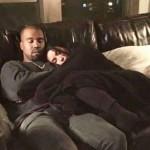 Канье Уэст опубликовал романтическое фото с Ким Кардашьян.