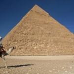Пирамида Хеопса покосилась