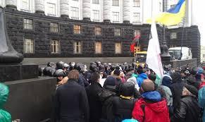 протест под кабмином